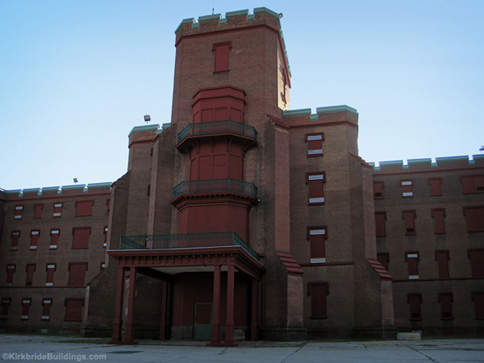 The Saint Elizabeths Hospital Center Building